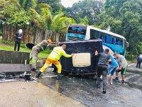 Vídeo: Acidente com seis veículos fecha a Serra das Araras em Piraí - revistadoonibus