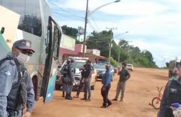 MT: Homem é morto dentro de ônibus em Bom Jesus do Araguaia