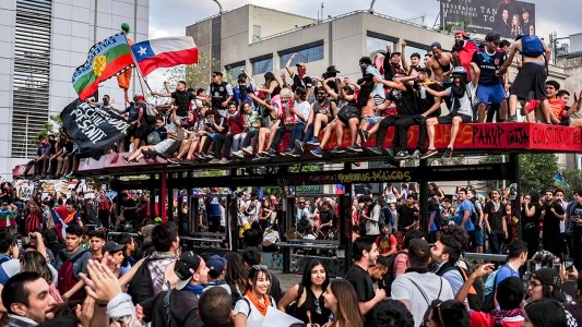 Chile del milagro al estallido social