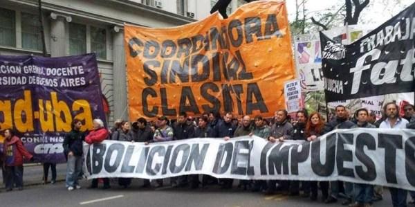 Nuestra política en los sindicatos argentinos