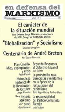 Revista En Defensa del Marxismo 15