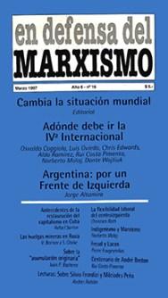 Revista En Defensa del Marxismo 16