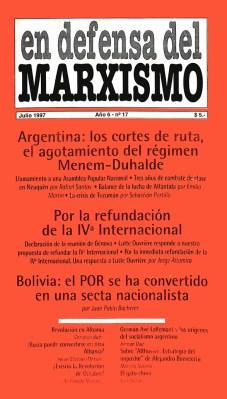Revista En Defensa del Marxismo 17