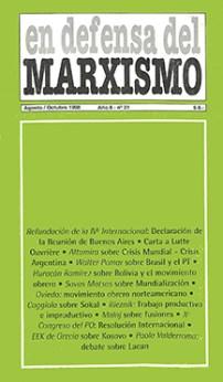 Revista En Defensa del Marxismo 21