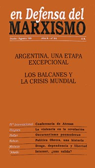 Revista En Defensa del Marxismo 24