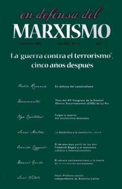 Revista En Defensa del Marxismo 34