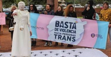 Intervención de organizaciones trans