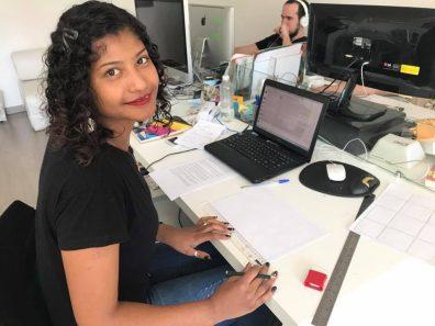 Carolinny Moraes aluna contratada - Foto Divulgação