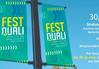 Festival de Qualidade e Inovação faz Pré-Lançamento no Sinduscon em São Paulo