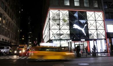Nova loja Conceito da PUMA na Cidade de Nova York integra Tecnologia, Arte e Música