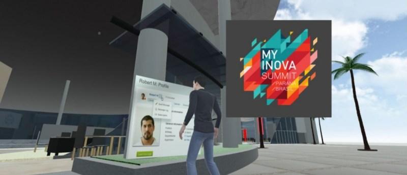 Crie seu avatar e interaja no My Inova Day 2020 Evento de tecnologia