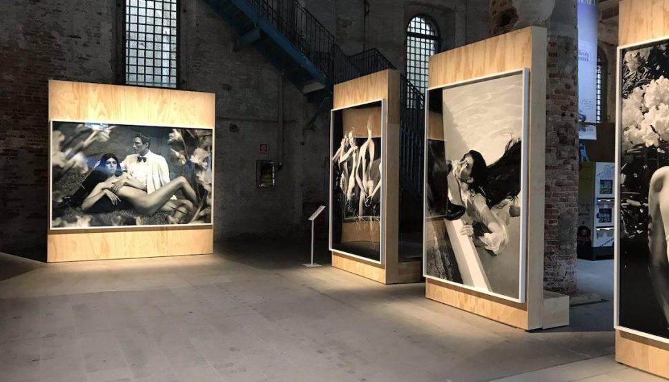 Martine Gutiérrez. Bienal de Venecia 2019. Foto: Yamily Habib/AL DÍA News.