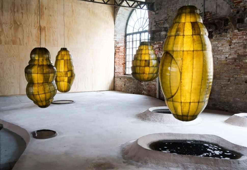 Anicka Yi, Biologizing the Machine (Tentacular Trouble), Bienal de Venecia,2019.