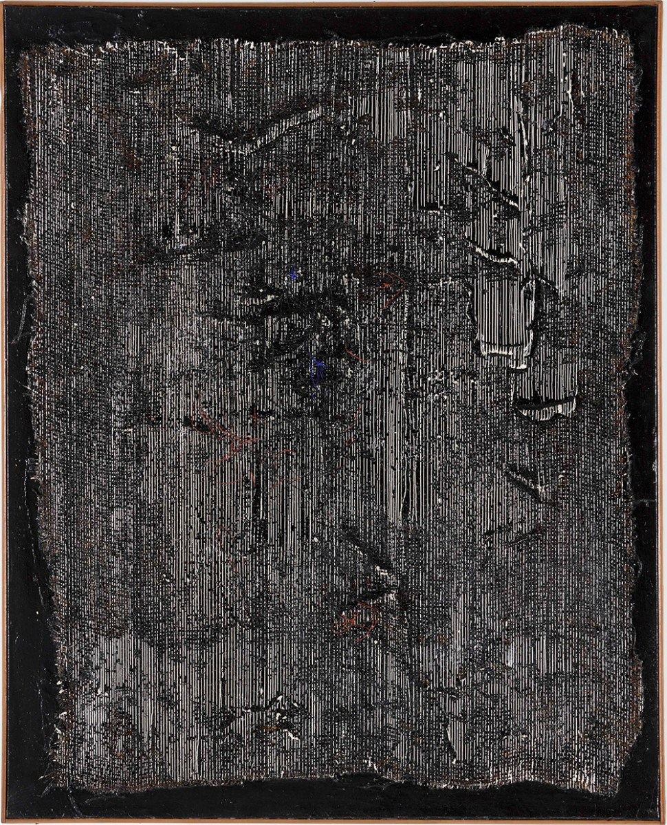 Jesús Soto. Vibración negra,1960.