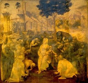 Leonardo da Vinci, Adorazione dei Magi