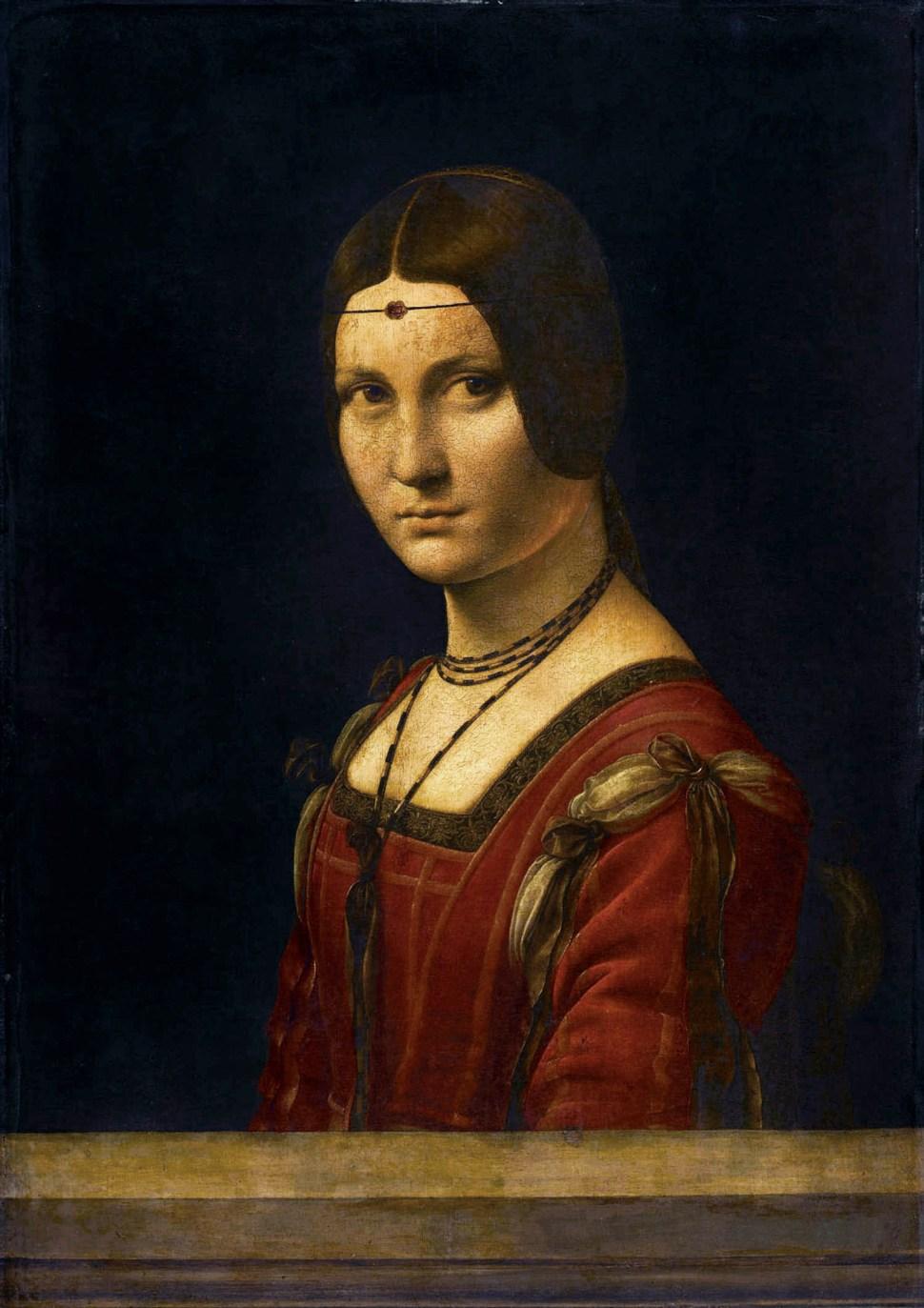 Leonardo da Vinci (attrib), la Belle Ferroniere