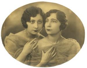 Autor desconocido. Dos damas.