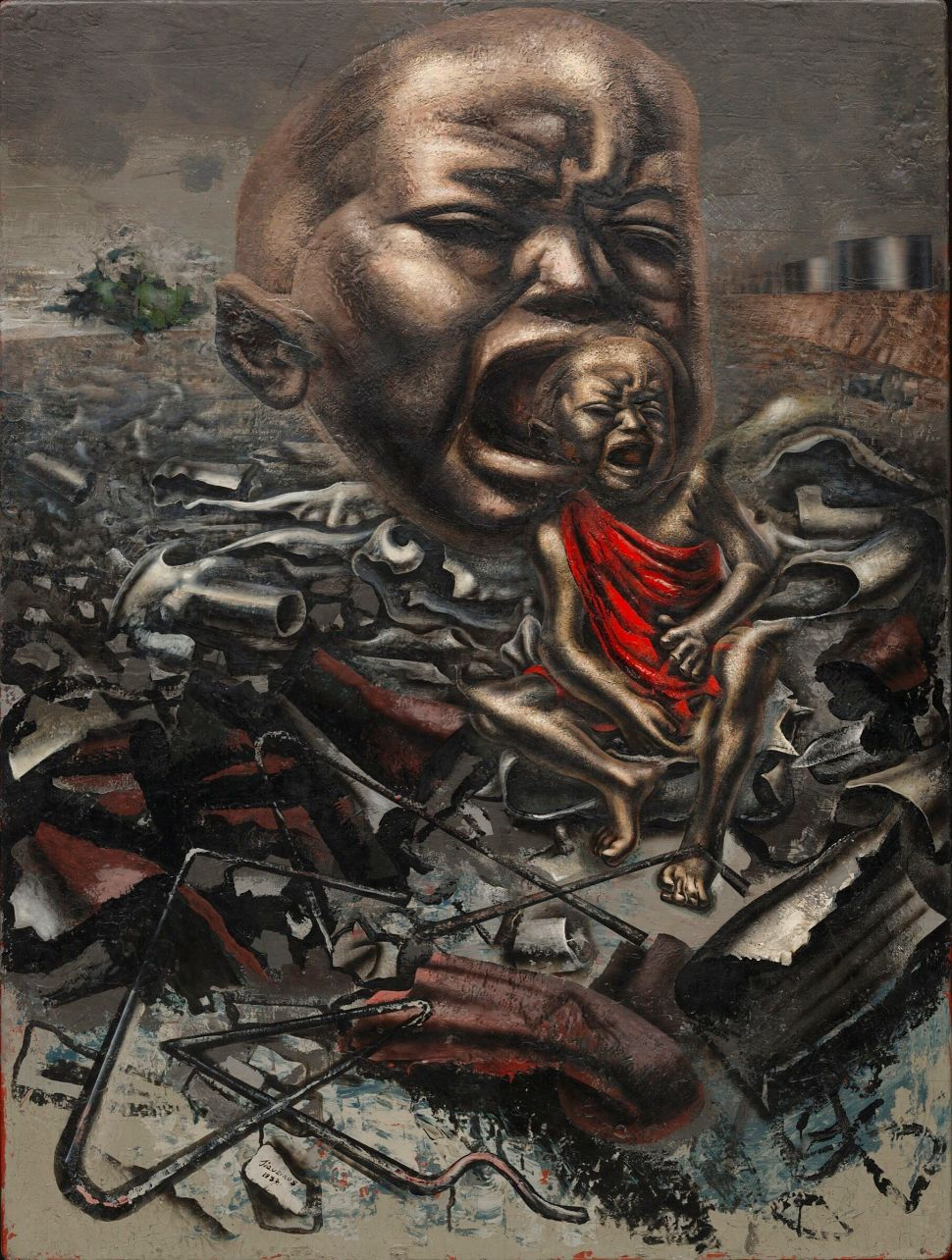 David Alfaro Siqueiros, Echo of a Scream, 1937
