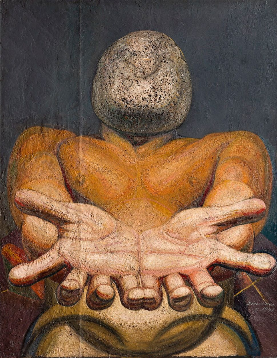 David Alfaro Siqueiros, Our Present Image, 1947