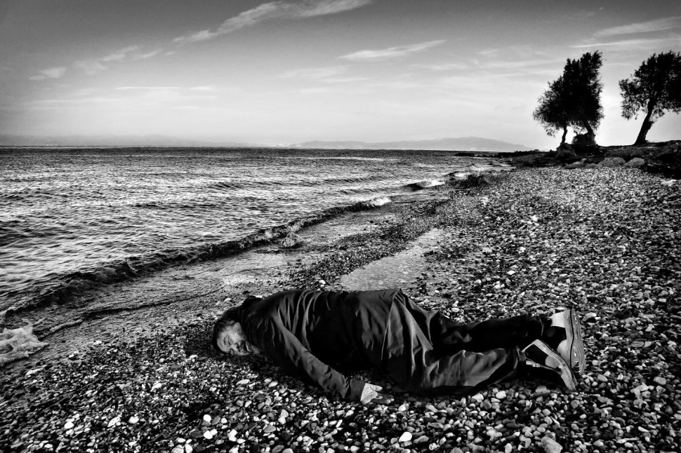 AI Weiwei as the child drowned at the cost of Turkey