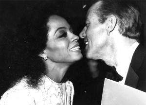 Diana Ross y Halston Foto Rose Hartman - Getty images