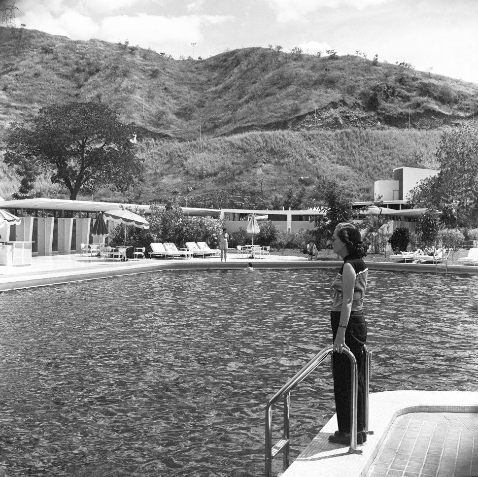 Alfredo Cortina. Hotel San Juan de Los Morros 1966. ©Archivo Fotografía Urbana. Colección del MoMA.