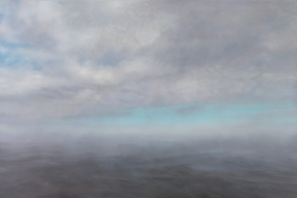 Gerhard Richter. Figuration Abstraction Seascape, 1975.