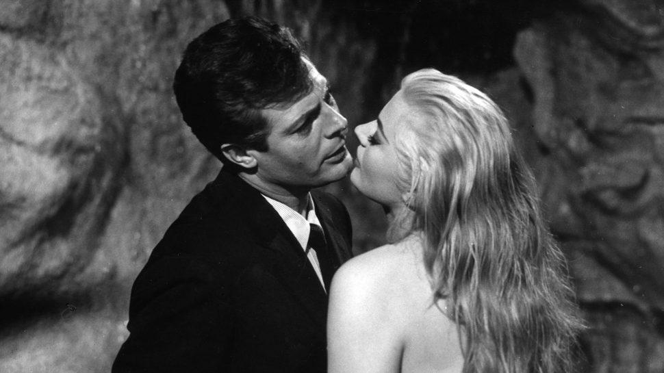 Marcello y Anita en la Fontana