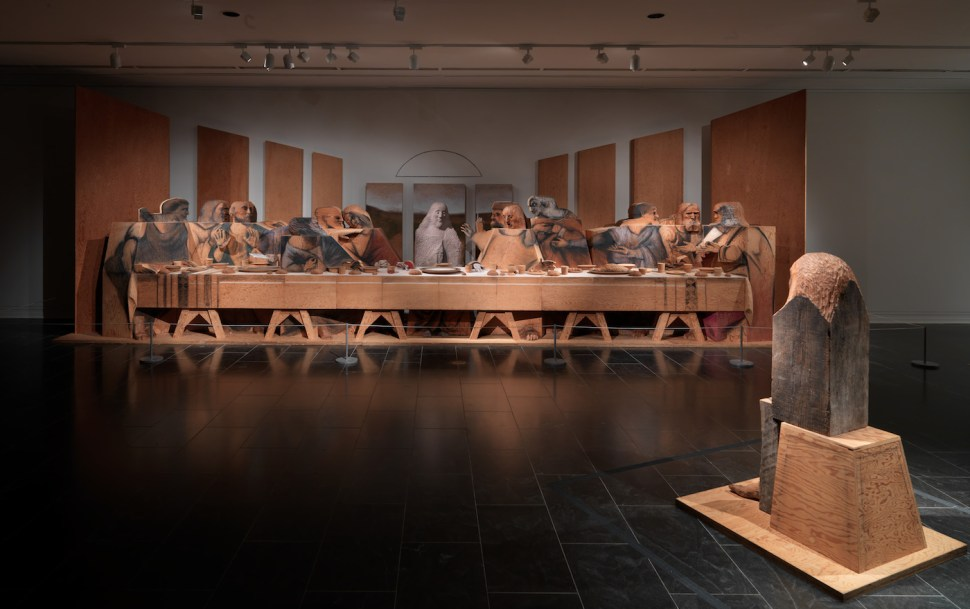Marisol, self-portrait with the last supper 1982-88