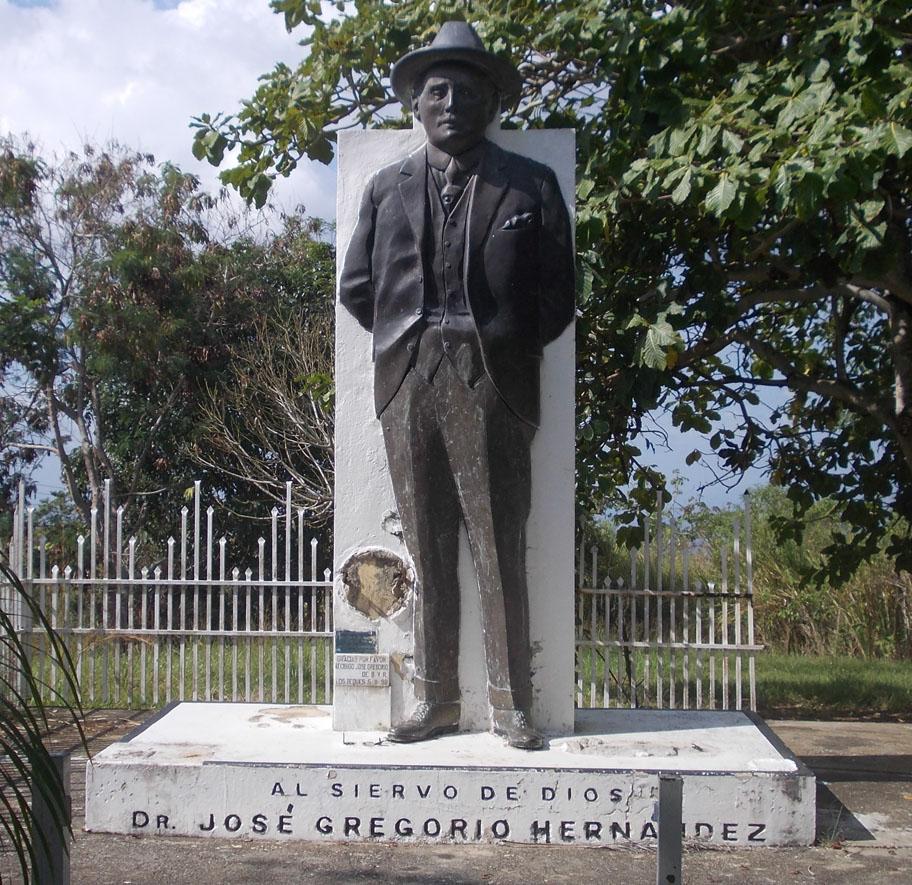 Marisol. Jose Gregorio Hernández sin maletín ni el ciervo.