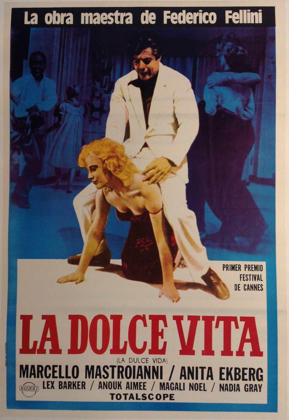 Afiche de La Dolce Vita
