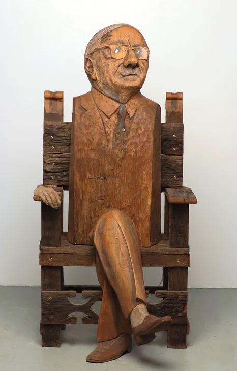 Marisol. My Father (1977) © Memphis Brooks Museum of Art Memphis. Foto Julio Greenblatt