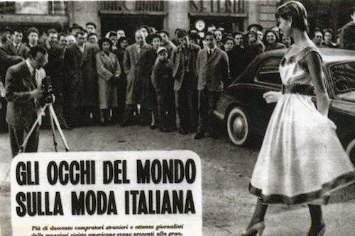Moda Italiana titular de prensa