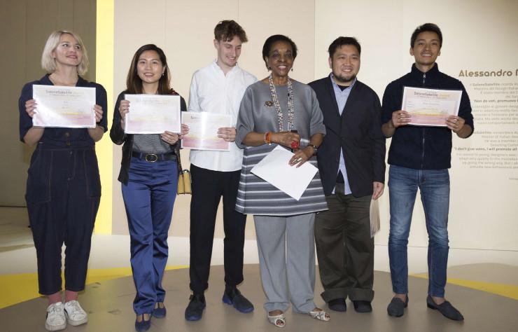 Ganadores del SaloneSatellite de Shanghai