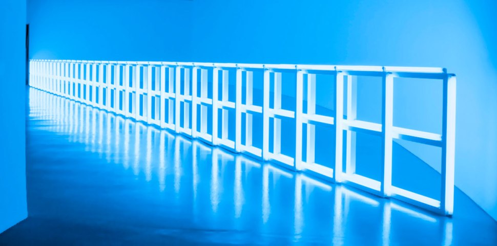 Dan Flavin untitled 1974
