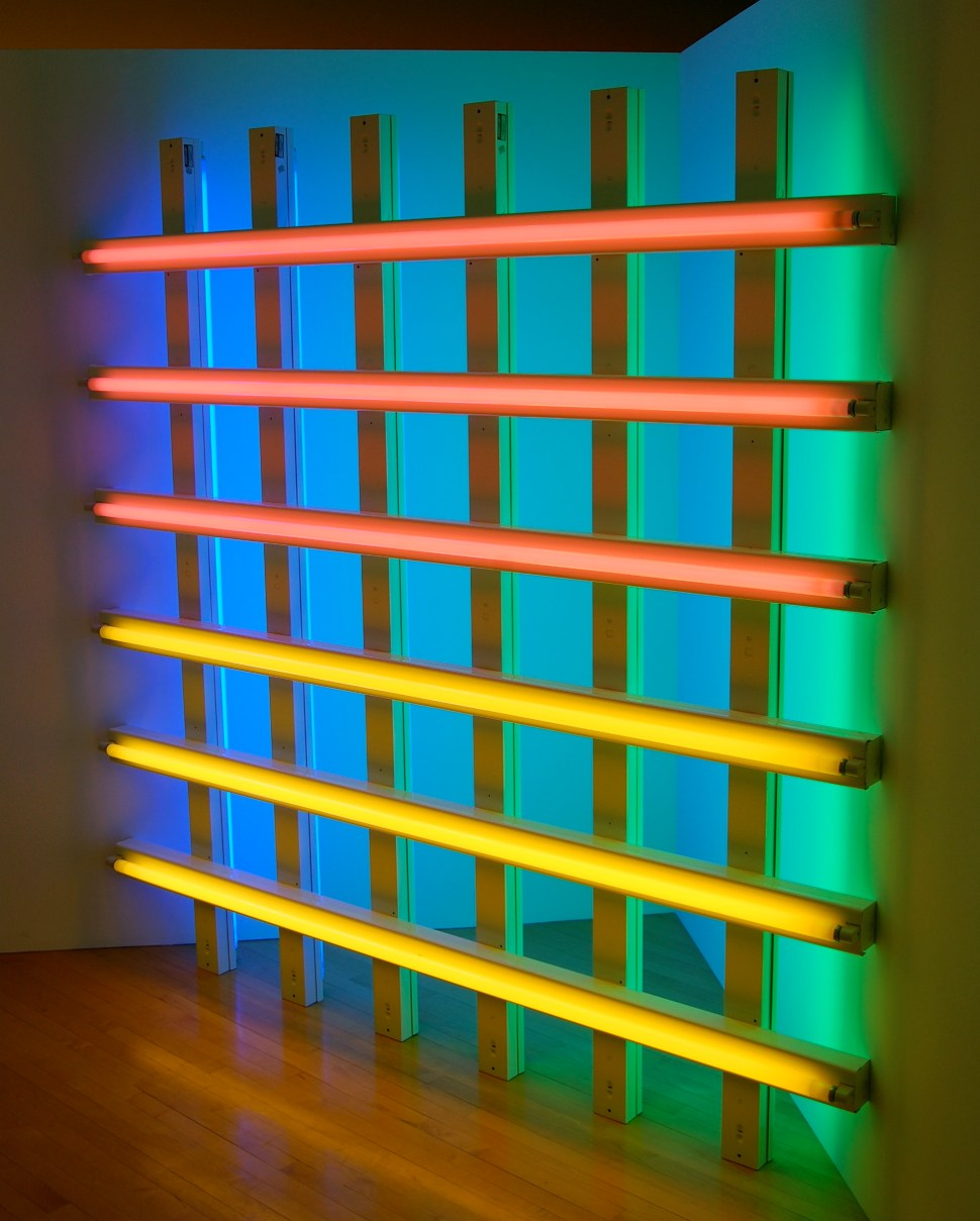 Dan Flavin untitled (in honor of Harold Joachim) 3 1977 Foto Andrew Russeth