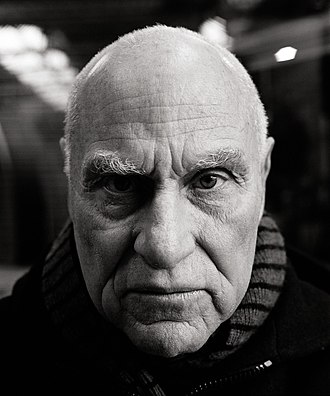 Retrato de Richard Serra por Oliver Mark. 2005