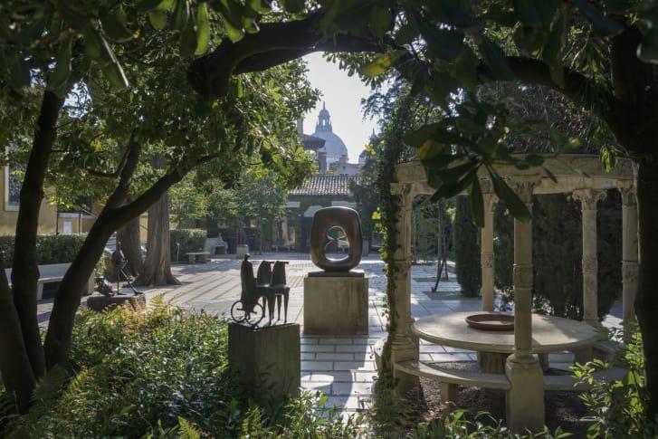 Vista del patio Cortesía Solomon Guggenheim Foundation