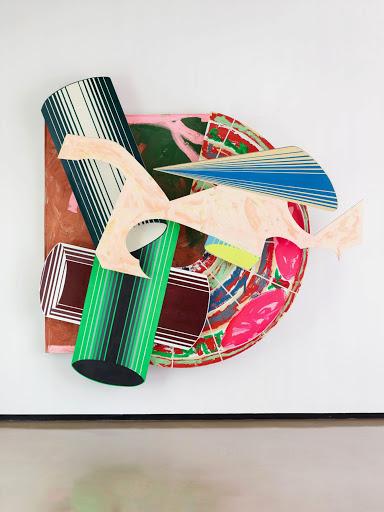 Frank Stella 1984 Ciencia de la pereza