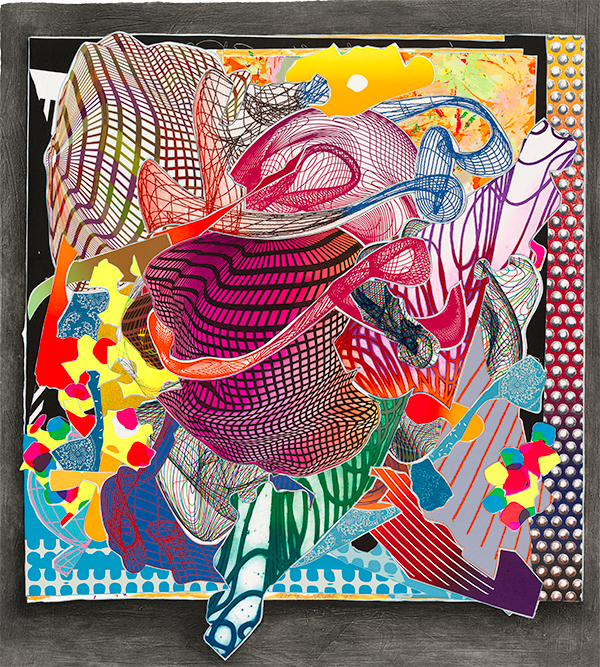 Frank Stella Feneralia from the imaginary places
