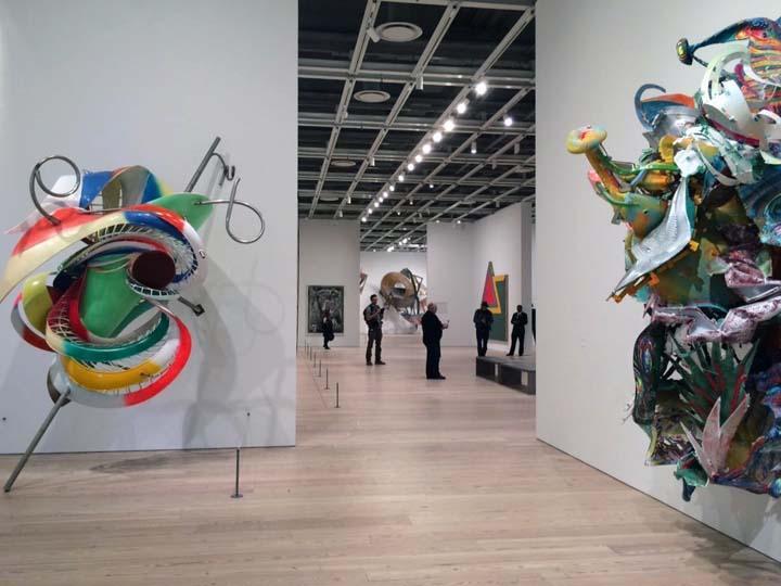 Frank Stella. Whitney Museum