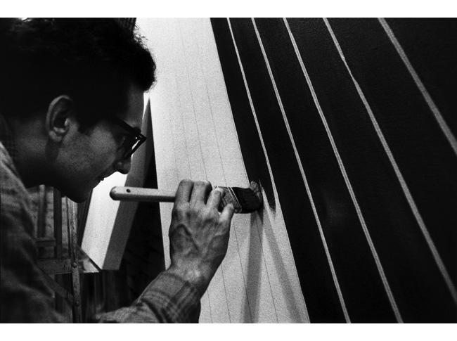 Frank Stella. Pintando una Black Paintigng