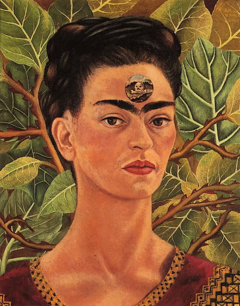 Frida Kahlo. Pensando en la muerte 1943
