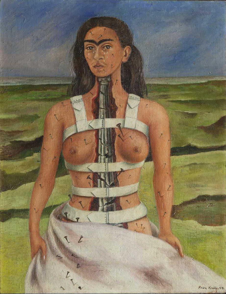 Frida Kahlo. La columna rota 1944