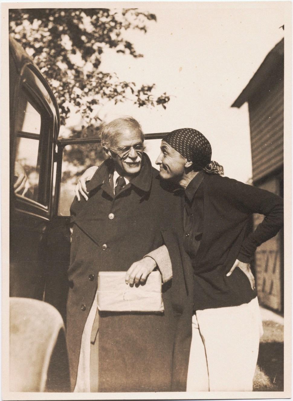 Alfred Stieglitz y Georgia O'Keeffe