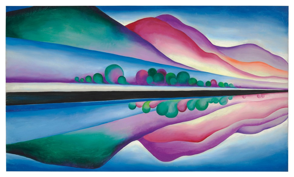Georgia O'Keeffe Lake George Reflection 1922