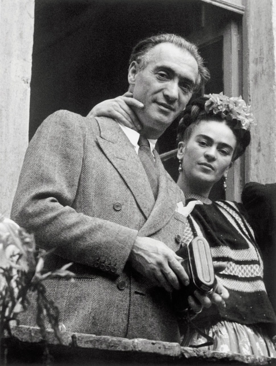 Nickolas Muray y Frida Kahlo