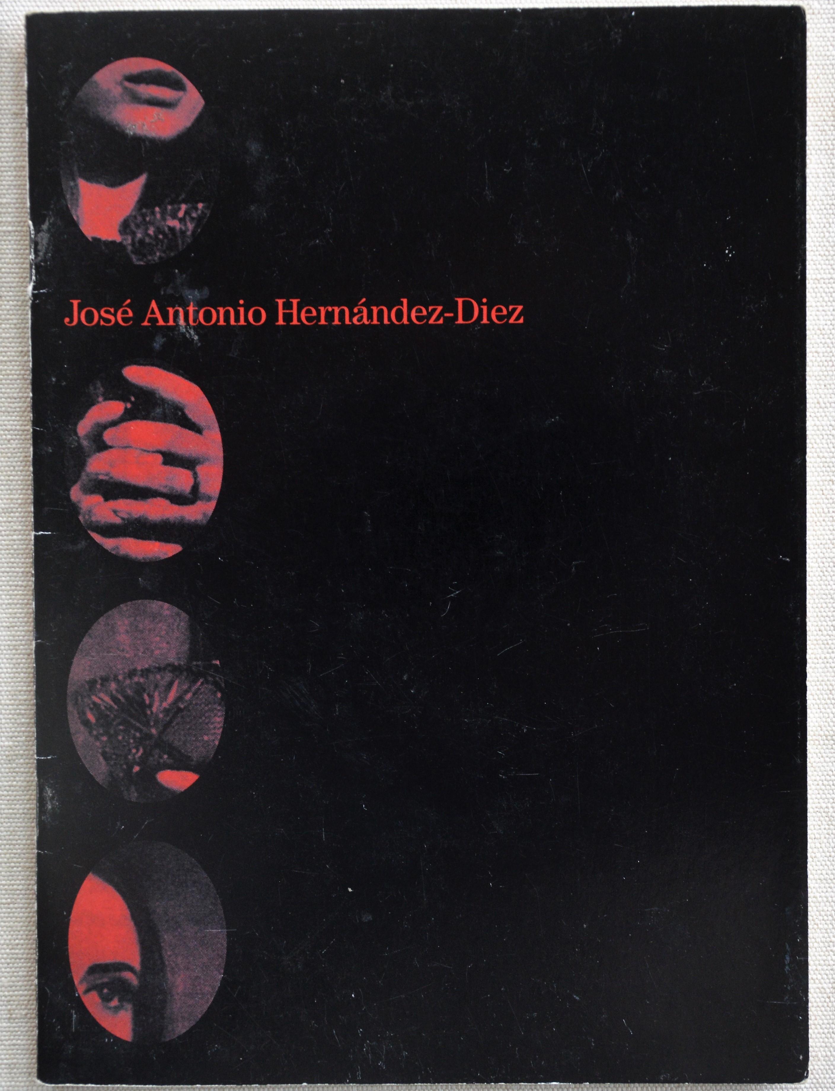 Portada del catálogo de la exposición en la Sala Mendoza