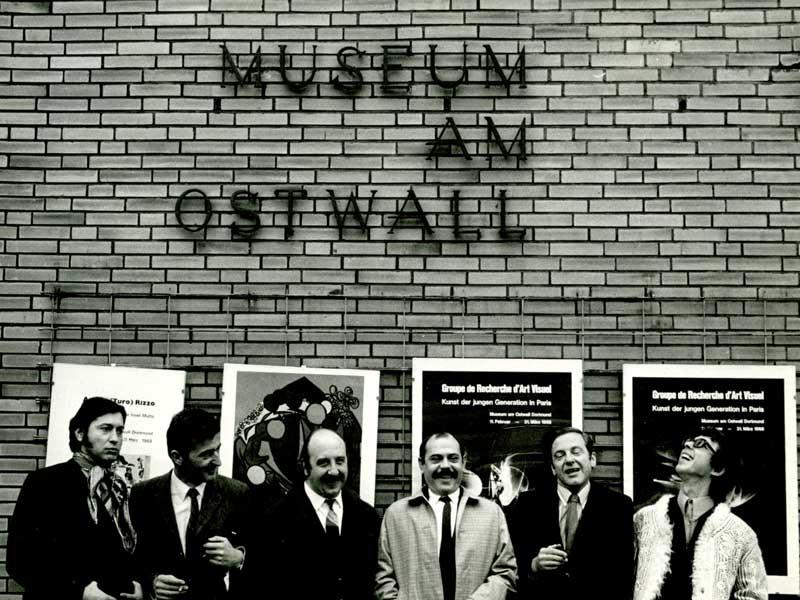 G.R.A.V. Bienale de Paris. Le Parc, Stein, Garcia Rossi, Sobrino, Morellet, Yvaral. Dortmund, 1968.