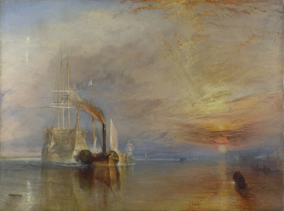 JMW Turner. The Fighting Temeraire, National Gallery